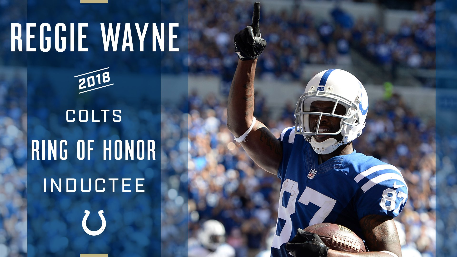 Congrats @ReggieWayne_17!   87 is going into the Colts Ring of Honor: https://t.co/kZn9qBrM9S https://t.co/6lHS2BFw5N