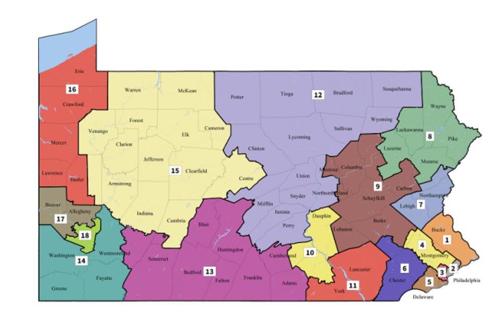Pennsylvania Supreme Court unveils new congressional map