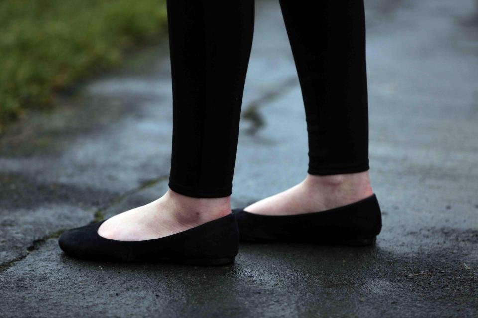 Parents' fury as kids are sent home from school for showing 'an inch of ANKLE'