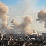 Scores of Syrian civilians killed in government airstrikes: report