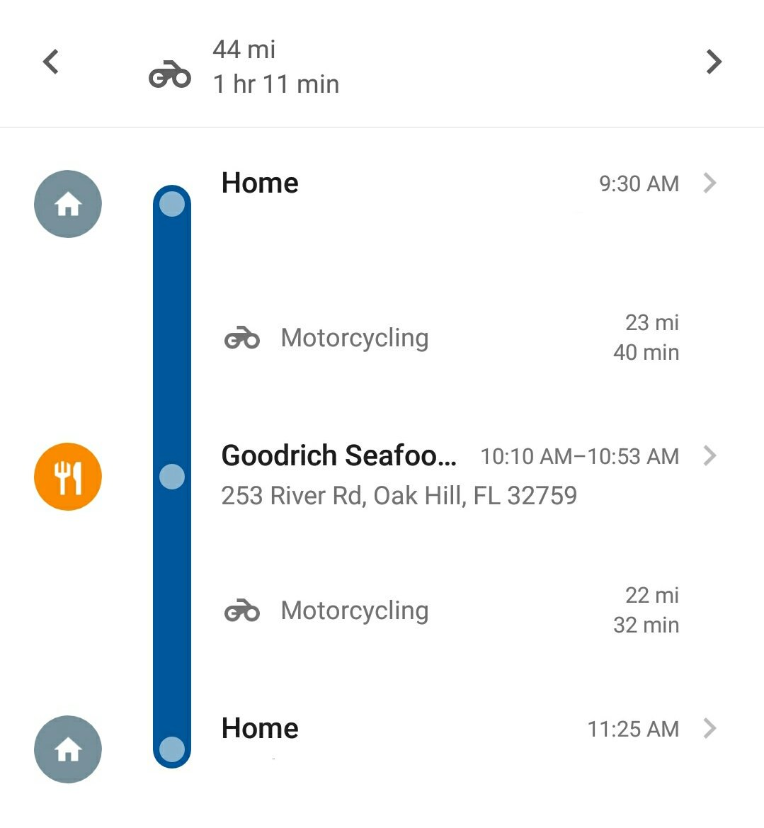 How on Earth does @googlemaps know I'm riding my motorcycle???!? https://t.co/44TAUutCaS