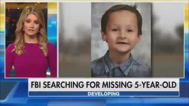 FBI joins desperate search for missing 5-year-old boy in Kansas https://t.co/4IoC5ygARJ