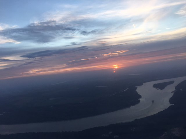 Nice aerial shot of #BatonRouge from local flight attendant Danni Downing | #LaWX https://t.co/4N1Q68i6hJ