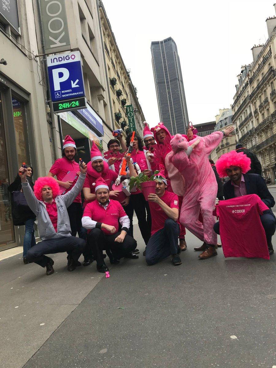 On continue le #tourdefrance avec une agence de #Paris très en forme