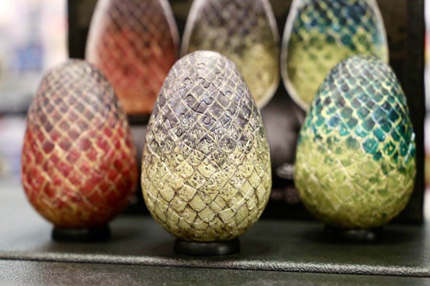 Check out the #GameofThrones Dragon Egg Puzzles by @4DCityscape at booth #1948. #NYTF2018 https://t.co/jGqGbxWabe