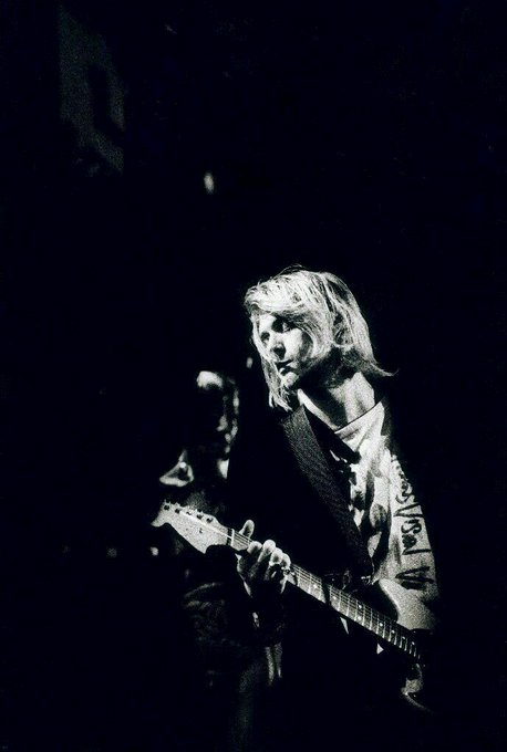 """Thank you for the tragedy. I need it for my art.\""  Happy Birthday Kurt Cobain"
