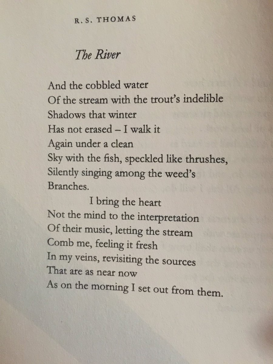 test Twitter Media - RT @MsJayneH: @PoetrySociety One of my favourites. R.S. Thomas https://t.co/RYAwiM60Fq