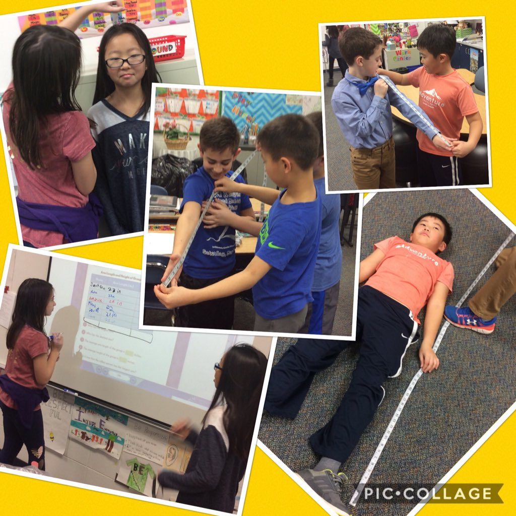 test Twitter Media - Students measuring arm length and height to calculate the mean from a set of data! #wbplays #d30learns https://t.co/Zs2vGGcaYP