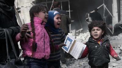 Syria's Eastern Ghouta suffers 250 civilian deaths, rights group says