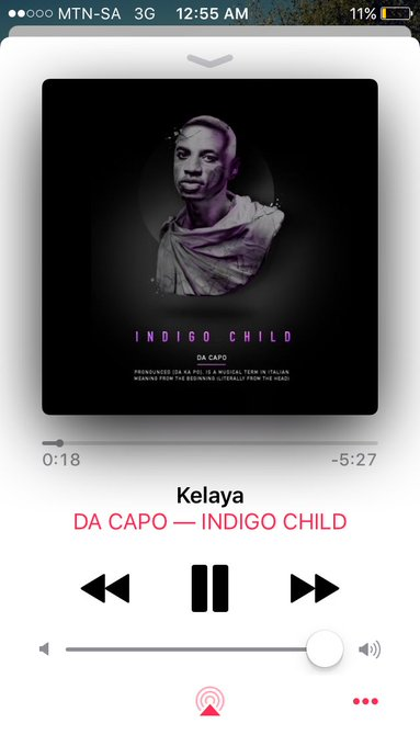 Working night shift listening to the best album in the game. @DacapoSA https://t.co/xAc2yQ8sim