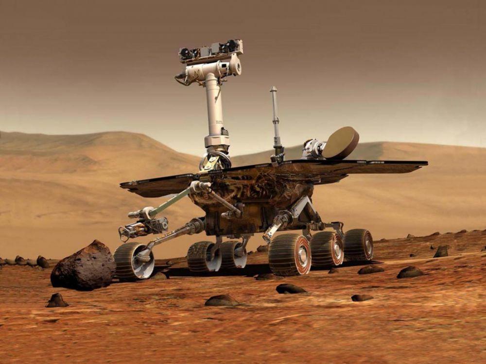 Le rover #Opportunity fête ses 5000 jours passés sur Mars !!
