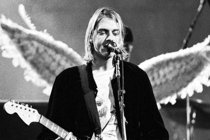 Happy birthday to a true legend and genius Kurt Cobain. Nobody dies a virgin, life fucks us all .
