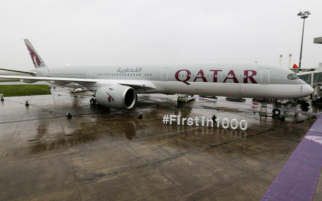 Qatar says may switch part of A350 order to biggest model https://t.co/cfUZZpl1sa https://t.co/w8vrJyXAc0