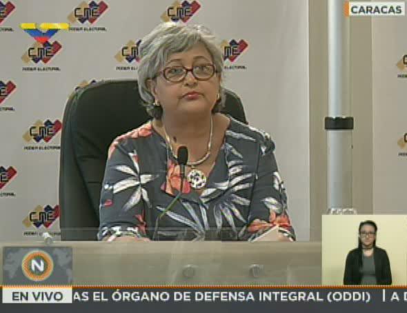 Tibisay Lucena sobre adelanto de parlamentarias: No hemos recibido propuesta formal https://t.co/V2Wb3Zdap7 https://t.co/cCpFvpM6QZ
