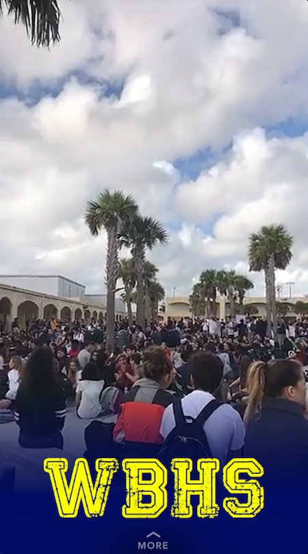 High school students across Florida are walking out to protest gun violence https://t.co/zNFbvqg9U1 https://t.co/nsjArvZJhF