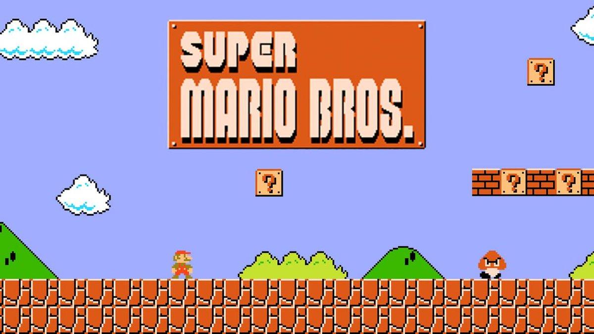 When people blame video games  super mario bros