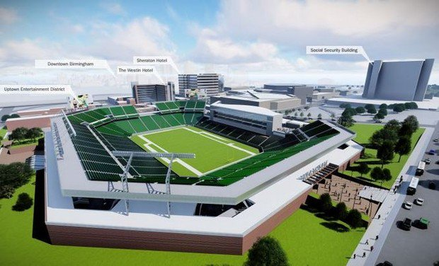 Car lease tax for BJCC stadium approved by Alabama Senate
