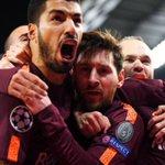 RT : Messi looking like he's afraid Sua...