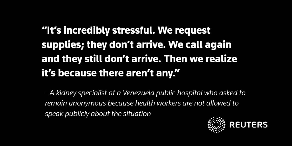 With medicine running out, Venezuelans with transplants live in fear: https://t.co/lvhFLX6MEn @AlexandraUlmer https://t.co/oCcmEwRCay