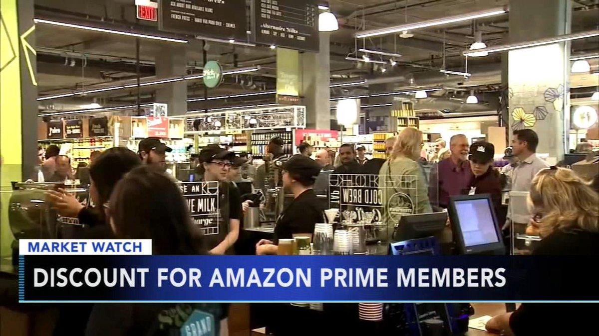 Amazon gives Prime members perk at Whole Foods https://t.co/f6XUM8yfmZ https://t.co/cRvzYpq1Em