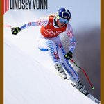 In her last Olympic downhill race, Lindsey Vonn is...