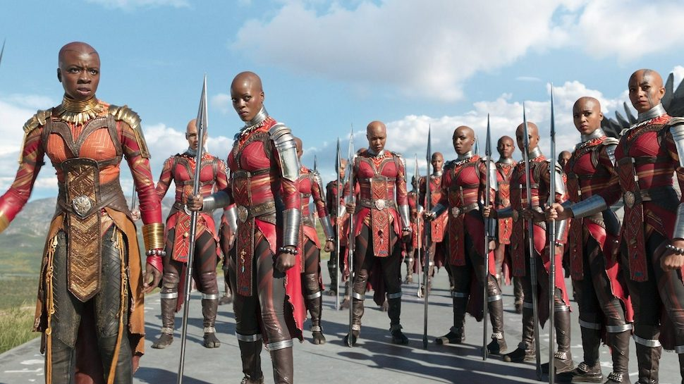 RT @nerdist: The women of #BlackPanther on the awesomeness that is the Dora Milaje: https://t.co/gsh7miNLyi https://t.co/aRGvLmuMwH