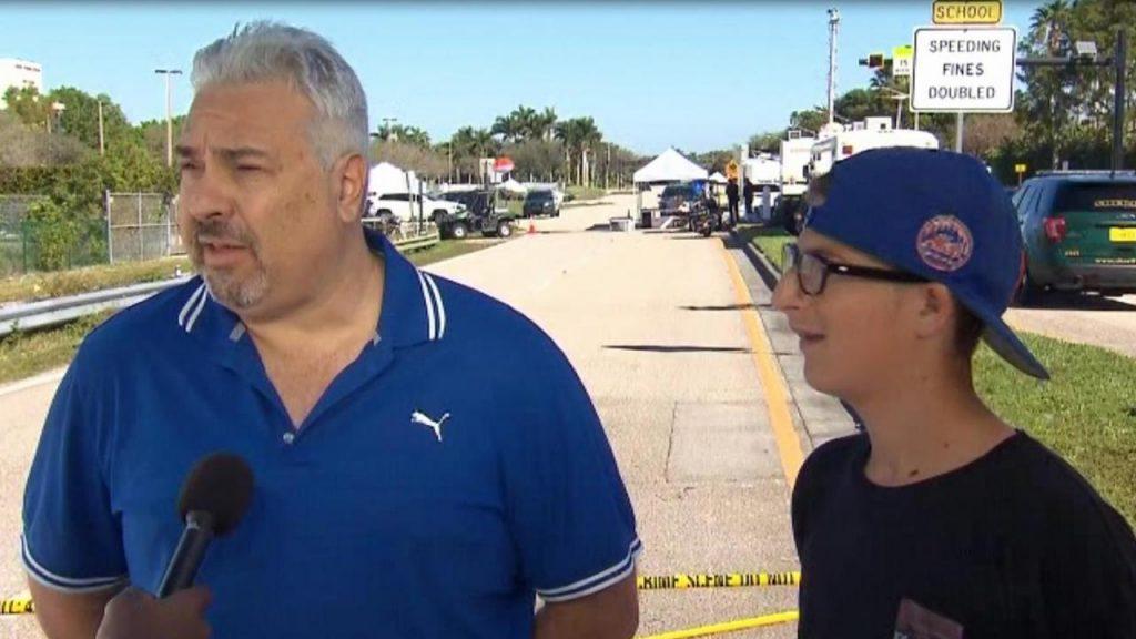 Unbelievable: Vegas massacre survivor lived to see his son escape Parkland mass shooting https://t.co/fgx6klwltp https://t.co/NURak00UWh