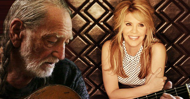 Willie Nelson & Alison Krauss to perform in Alabama at Oak Mountain Amphitheatre