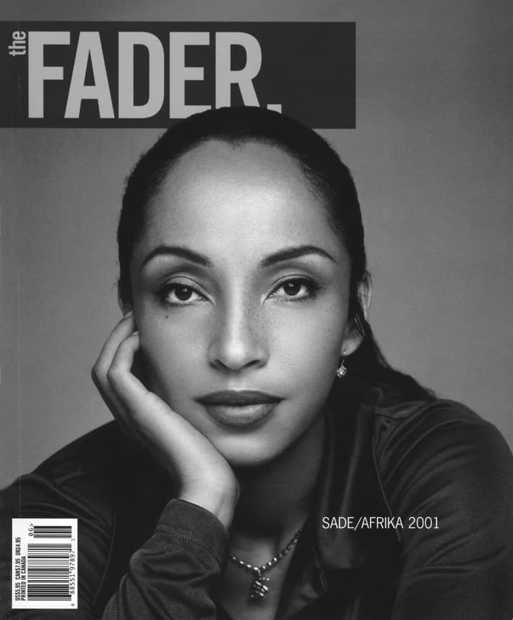 Sade's FADER issues and posters are 25% off today with code: SADE25 Sale ends at midnight. https://t.co/wOfGzNS2py https://t.co/O6C94Mln5J