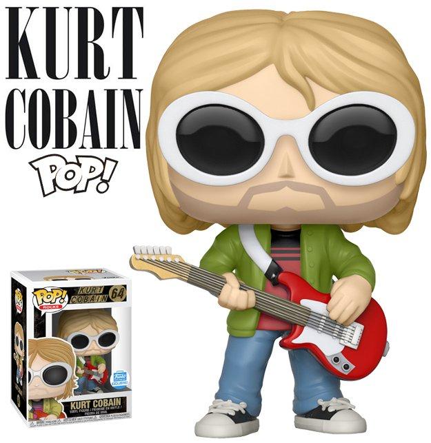 Kurt Cobain Happy Birthday Pop! - Boneco de Aniversário do Fundador do Nirvana no BdB: