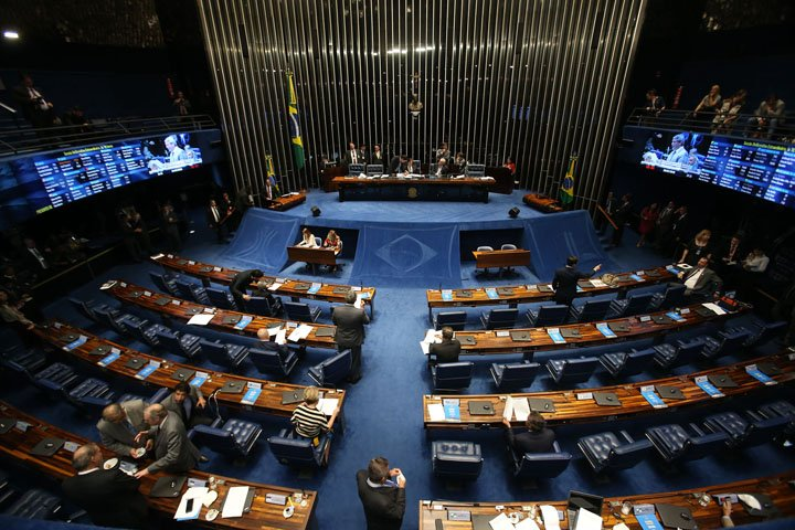 @BroadcastImagem: Sessão do Senado para votar decreto de intervenção federal na Segurança Pública no RJ. André Dusek/Estadão
