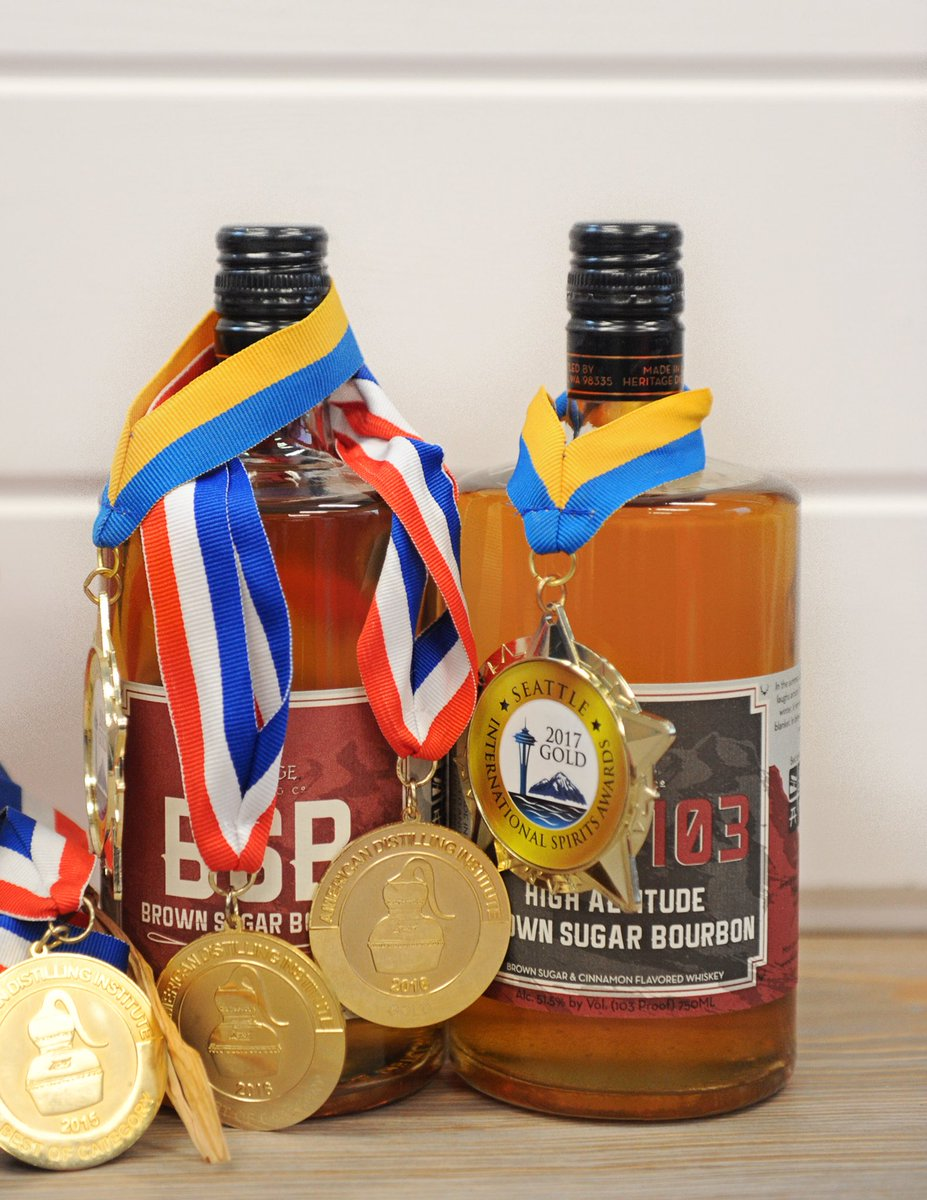 test Twitter Media - 🏅Gold Medal Sale happening ONLINE right now! 20% off Mango Vodka, Peach Vodka, Ruby Red Grapefruit Vodka, Elk Rider Vodka, Bourbon, & Rye, BSB - Brown Sugar Bourbon & BSB103 #HeritageDistilling #WinterOlympics 🇺🇸 https://t.co/3U9kEVhICd