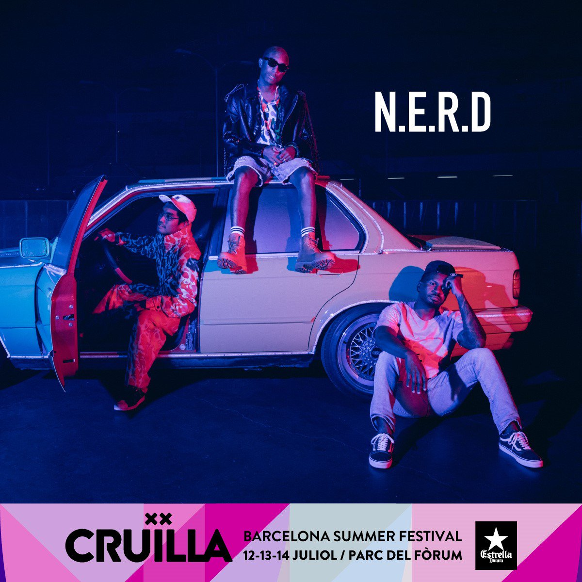 I'll be performing with @NERDarmy at @cruillabcn this July! ????????https://t.co/OpZ2gqUY2a #NoOneEverReallyDies https://t.co/6RuhtjlnNz