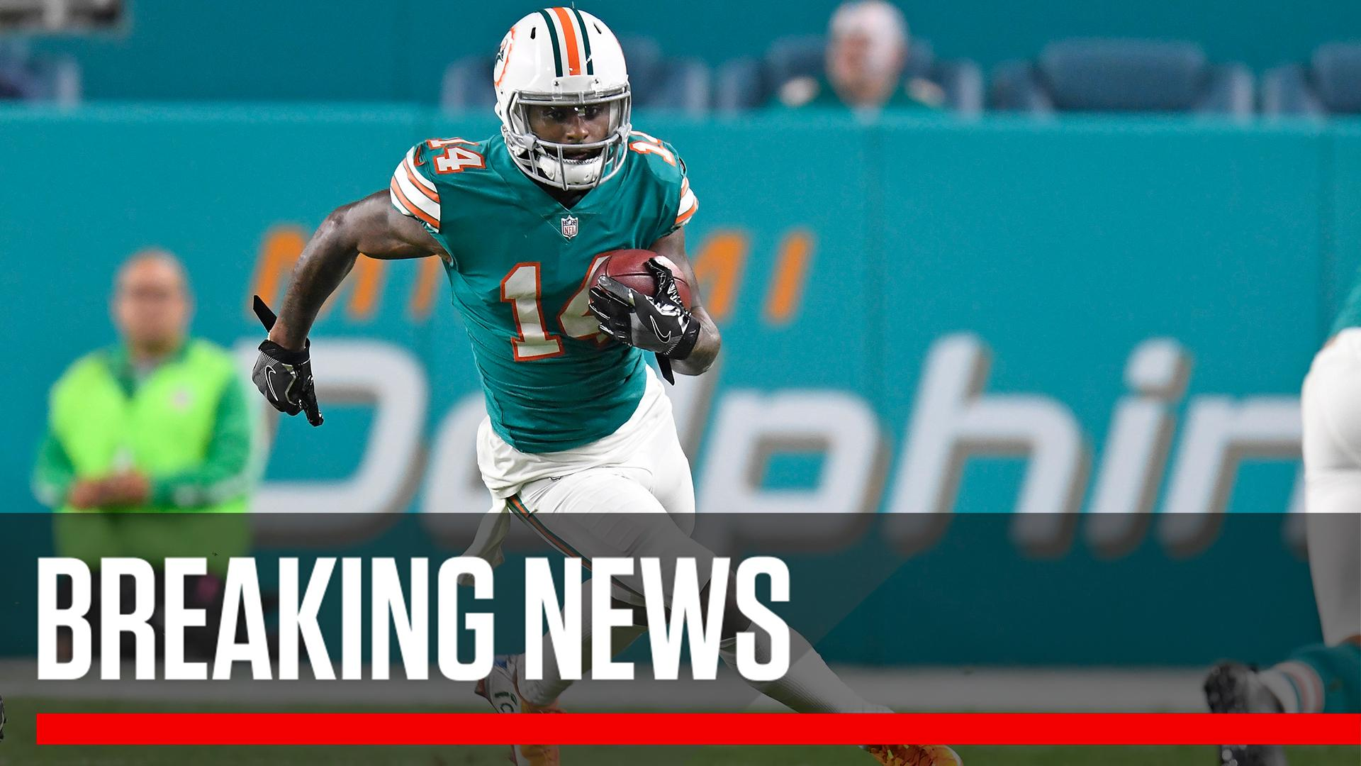 Breaking: The Miami Dolphins have placed a franchise tag on Jarvis Landry. https://t.co/Quoryvu5Ob