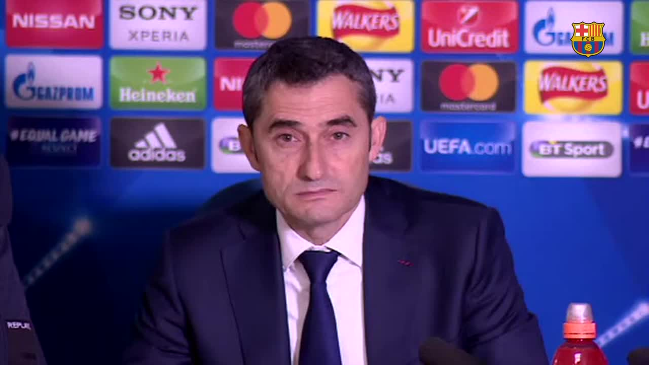 �� Get the post-match thoughts of Ernesto Valverde and the players... ���� #ChelseaBarça https://t.co/wERtoWQC0M