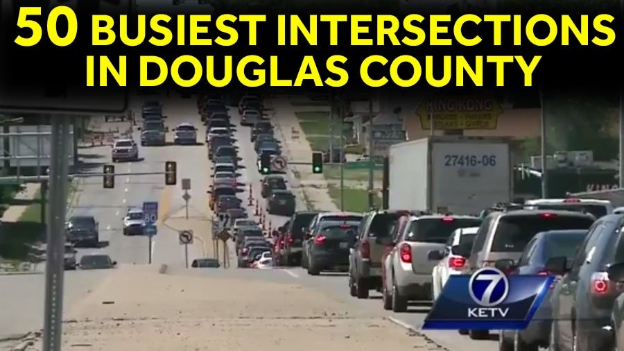 Top 50 busiest intersections in Omaha