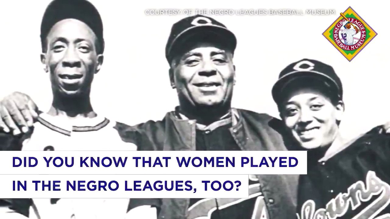 Women made their mark in ⚾️, too. #BlackHistoryMonth https://t.co/iDpyF7AXWF