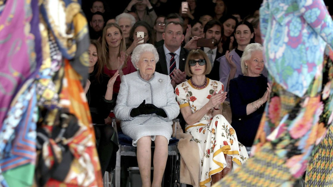 Glamour, farewells and a 70s vibe: London Fashion Week in photos