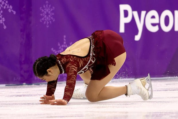 Winter Olympics 2018: Team USA's Mirai Nagasu stumbles during tiple axel - https://t.co/3vFoU8XAtP https://t.co/7c4hH7EQbF