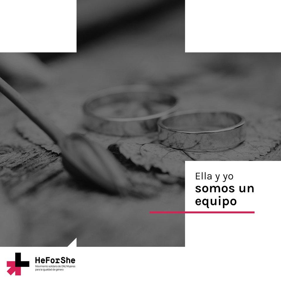 RT @ONUMujeresMX: El género de una persona no debe ser razón de desigualdad. #HeForShe  https://t.co/MyuZ7ifU1f https://t.co/t2EKDG2uKP