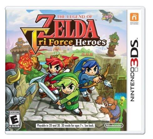 The Legend of Zelda: Tri-Force Heroes (3DS) $8 via Wal-Mart (Free Store Pick Up). https://t.co/ekRCXv0ujE https://t.co/N030EwKykx