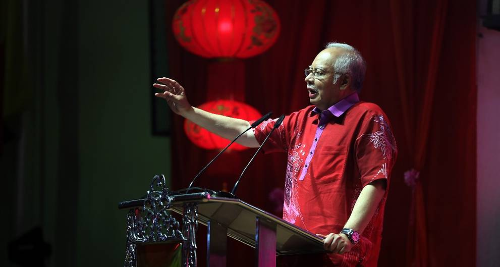 Chinese community played important role in Malaysia's development: PM Najib