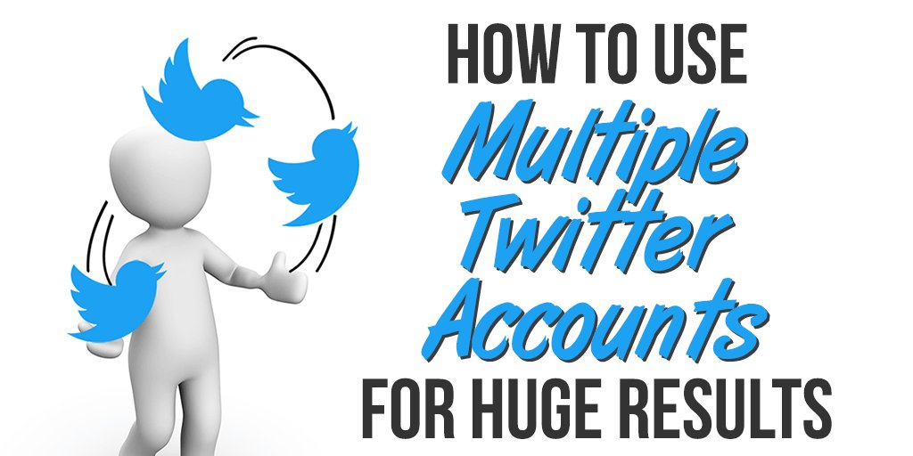 How to Use Multiple Twitter Accounts for Huge Results https://t.co/hOItvu9Nrt #wordpress #startup #leadership https://t.co/QuMq9GnJLt