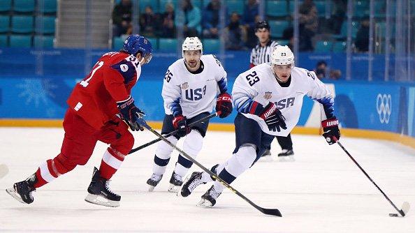 US men's hockey eliminated in dramatic shootout loss