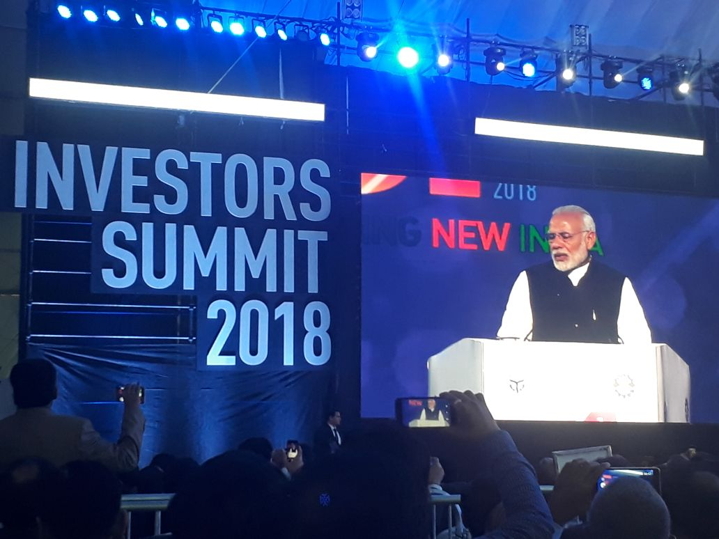 test Twitter Media - . @narendramodi, Prime Minister of India at #UPInvestorsSummit   https://t.co/0XOyB9cW48 #UPInvestorsSummit2018 #eletsonline @InvestInUp @myogiadityanath https://t.co/UUThYd4Dob