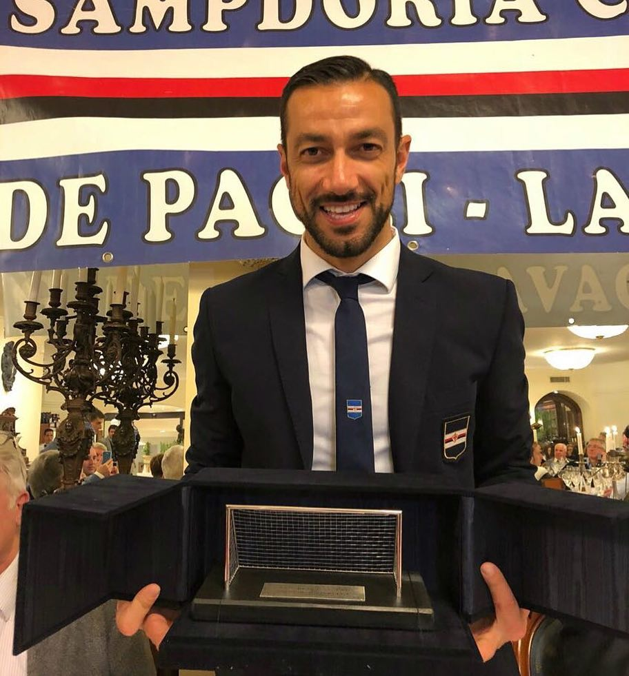 Fabio won on award for being Sampdoria's best player of the past season 🏆 https://t.co/nchxTW06ng