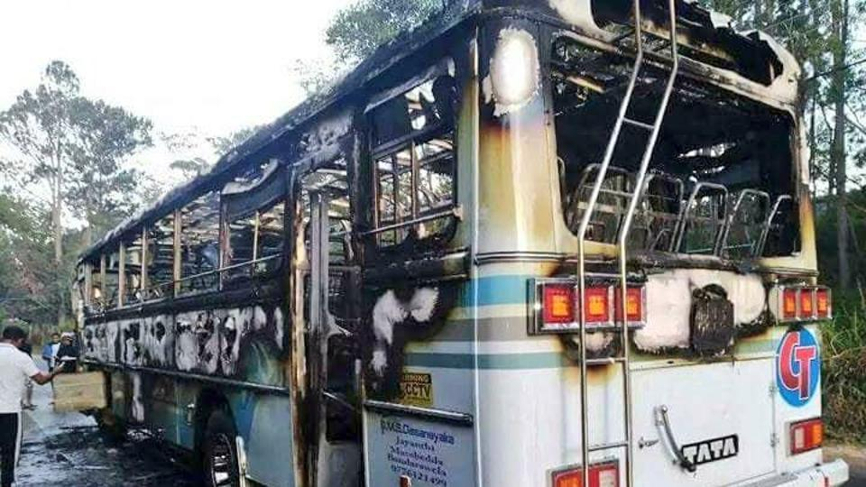 Sri Lanka bus explosion injures 19, including 12 military personnel