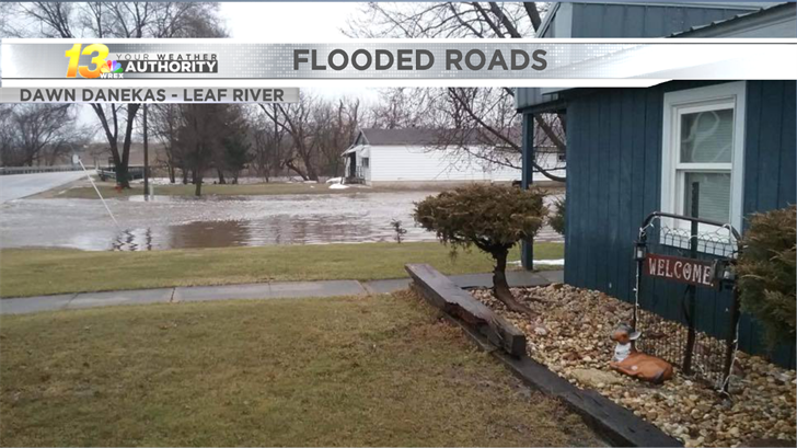 Flooded areas reported across the Stateline