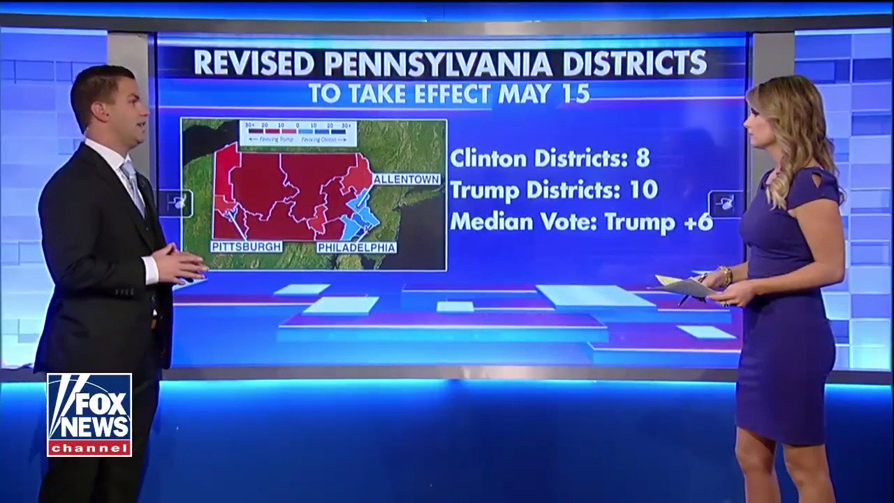 Pennsylvania Supreme Court issues new congressional map, which could benefit Dems https://t.co/5qo2YNKMKg https://t.co/mkKEguyvKY