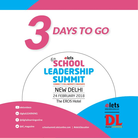test Twitter Media - 3 Day to go! We are excited for Elets 6th School Leadership Summit! Are you all set to join us?  Visit: https://t.co/AXzzpd2XxW #eletsEducation #SLS2018 #Education #Conference #SchoolFranchise #Schools #Preschools #Innovation https://t.co/2uX8mpUX3o